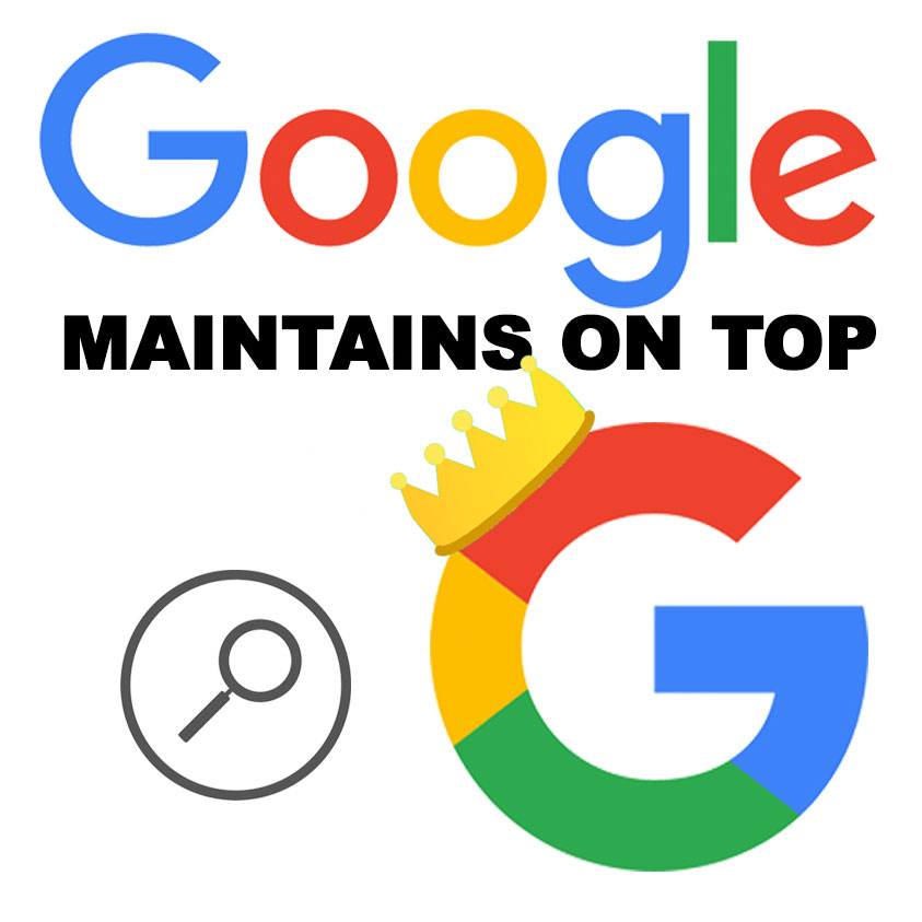 Google Maintains its Position as the Top Search Provider