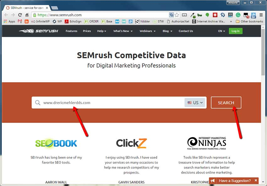 Analyze Your Competitors for Keywords To Get An Edge