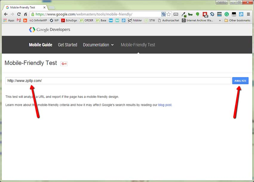 Ensure Your Website is Mobile Friendly Using Google Mobile-Friendly Test