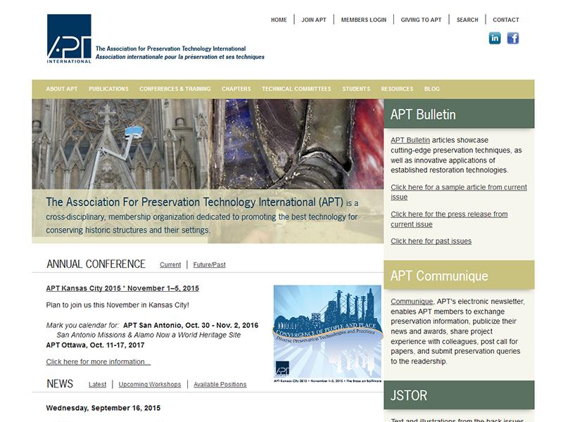 APTI – Non Profit Web Design