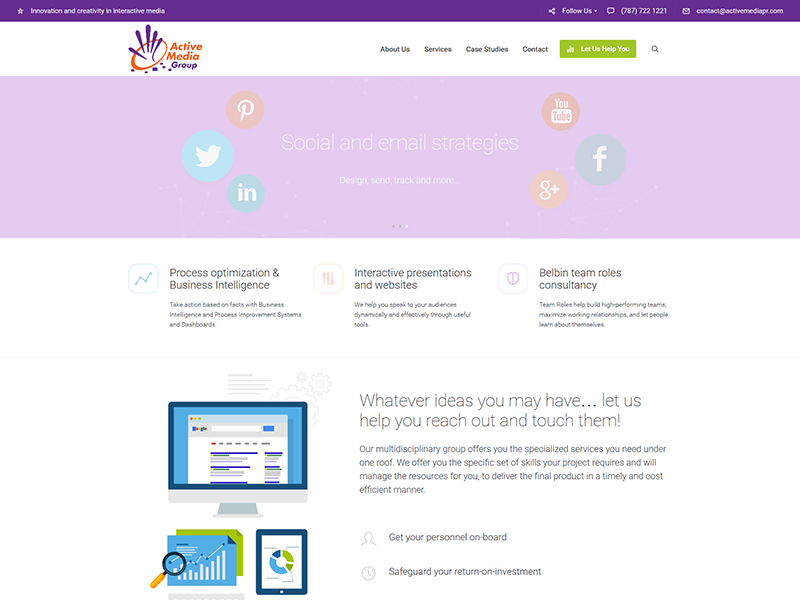 Active Media – Corporate Web Design