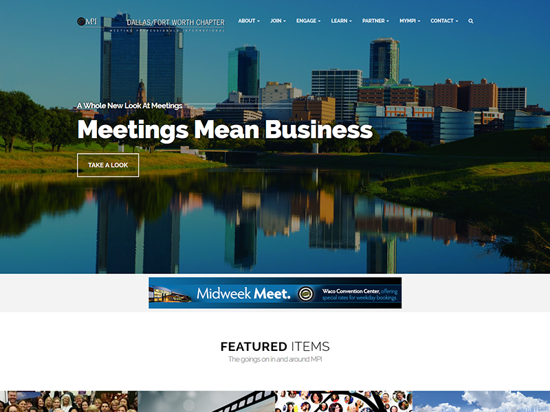 MPI Dallas/Fort Worth Chapter – Non Profit Web Design