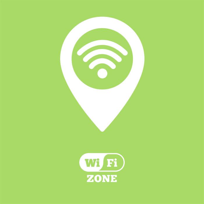 Digital image wifi location