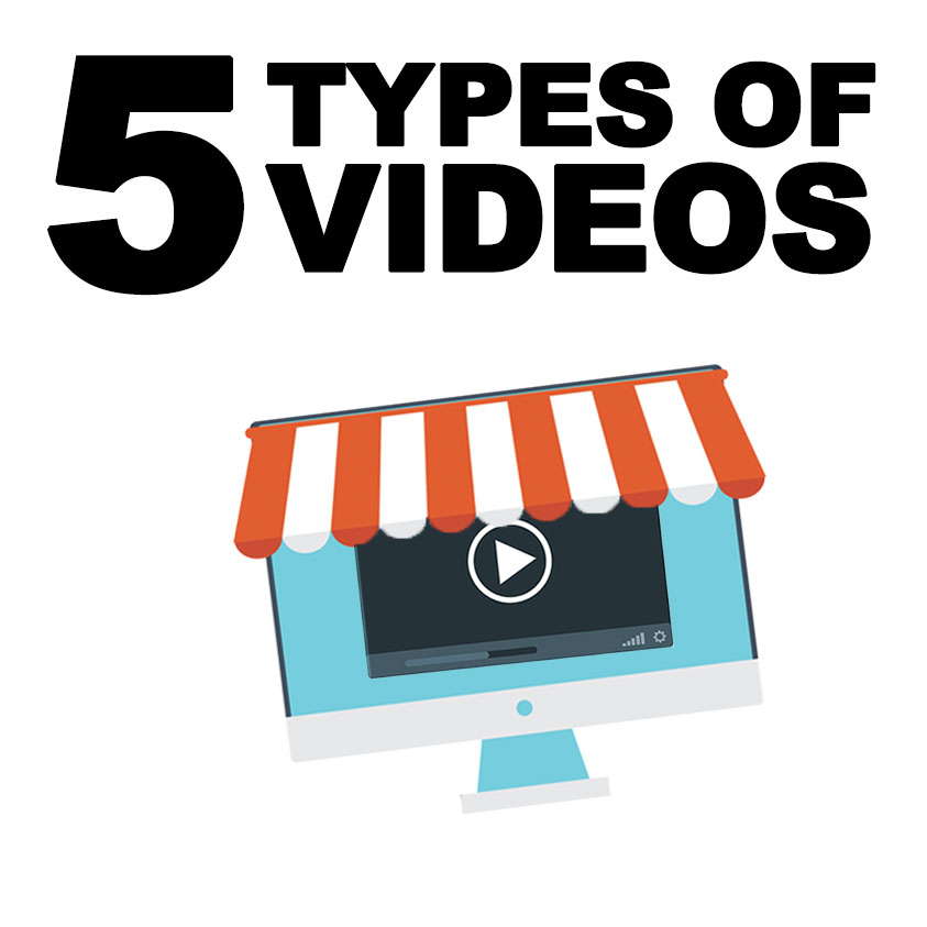 Video Marketing Tips: The Five Types of Videos Your Business Needs