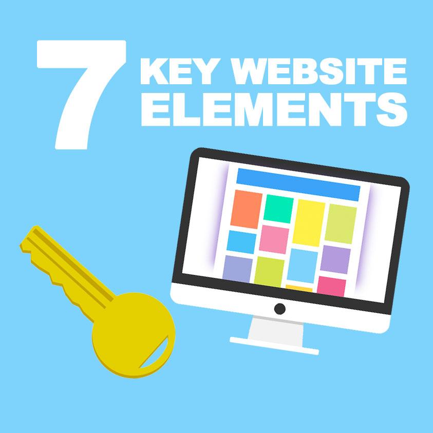 7 Key Website Design Elements that Convert Visitors into Customers