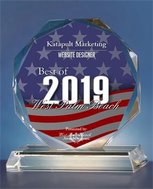 Katapult Marketing Receives 2019 Best of West Palm Beach Award