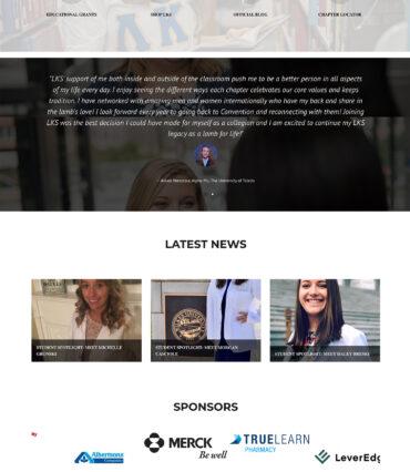 LKS Website Developement Portfolio by Katapult Marketing